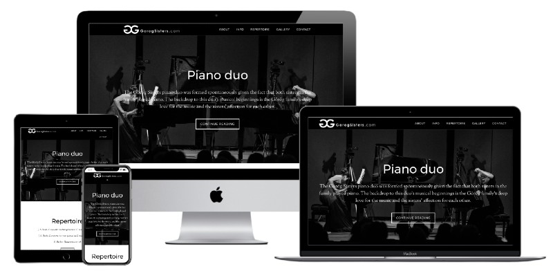 """Piano duo """"Sestre Gereg"""""""